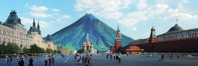 DUY64yxVQAIdg5j - Mocha tranfers Mayon Volcano, netizens does it all over the world - Jokes and Humor