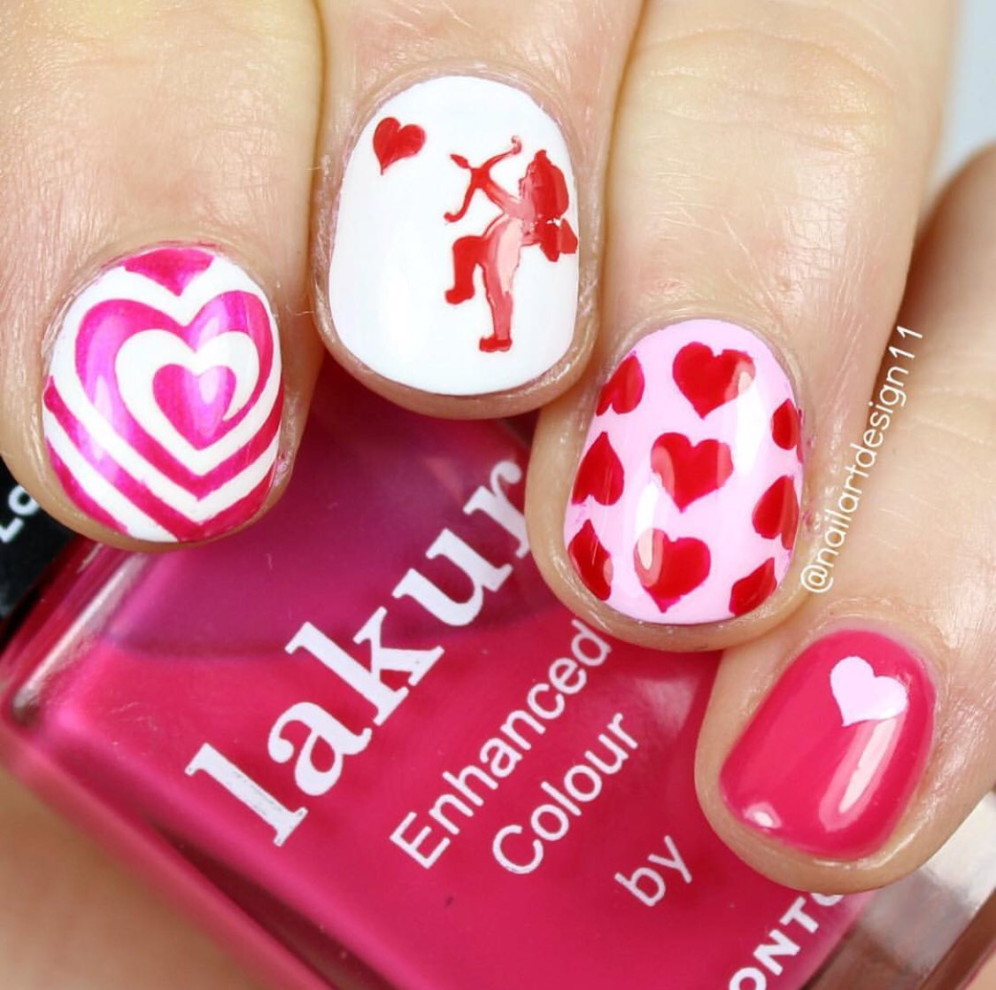 Snail vinyls snailvinyls twitter make sure your nails are ready like nailartdesign11s fabulous manicure using our i heart swirls nail vinyls heart nad cupid nailart stencils all prinsesfo Choice Image