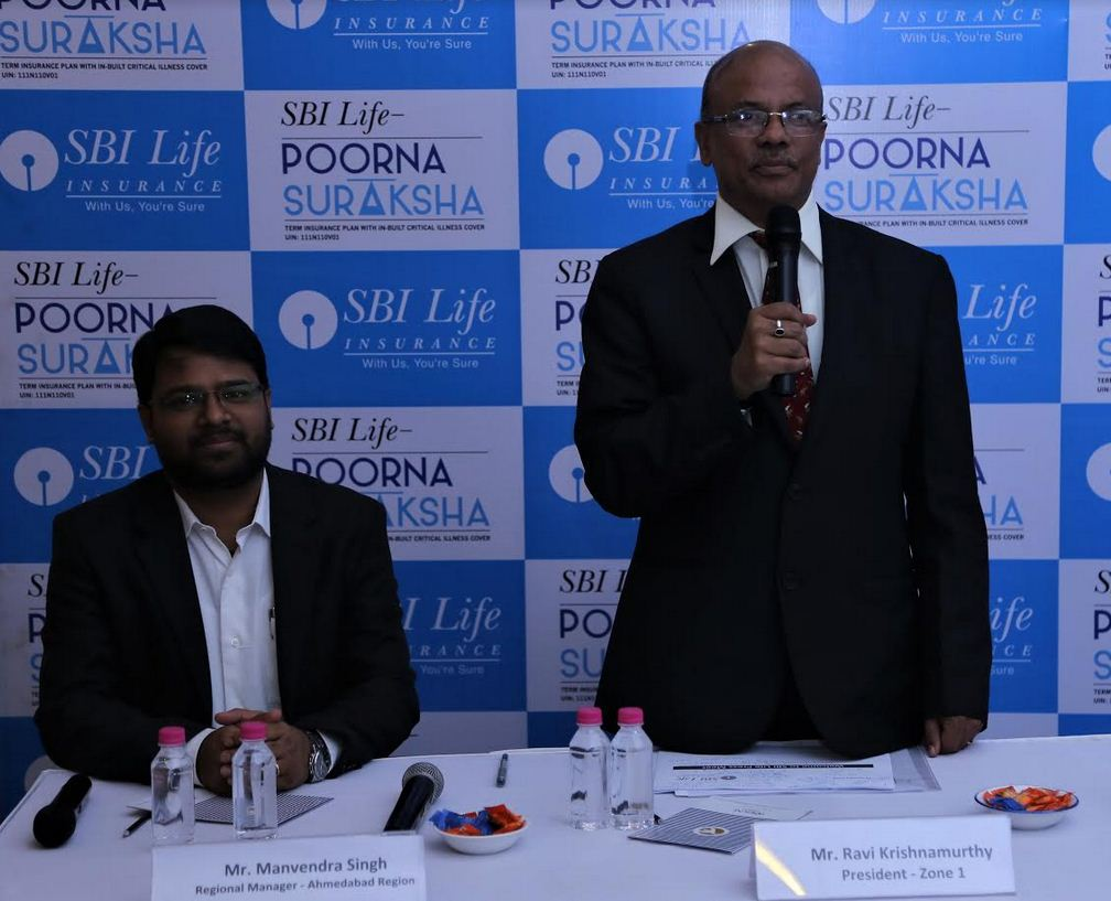 SBI Life Insurance launches 'SBI Life –Poorna Suraksha' plan in Gujarat