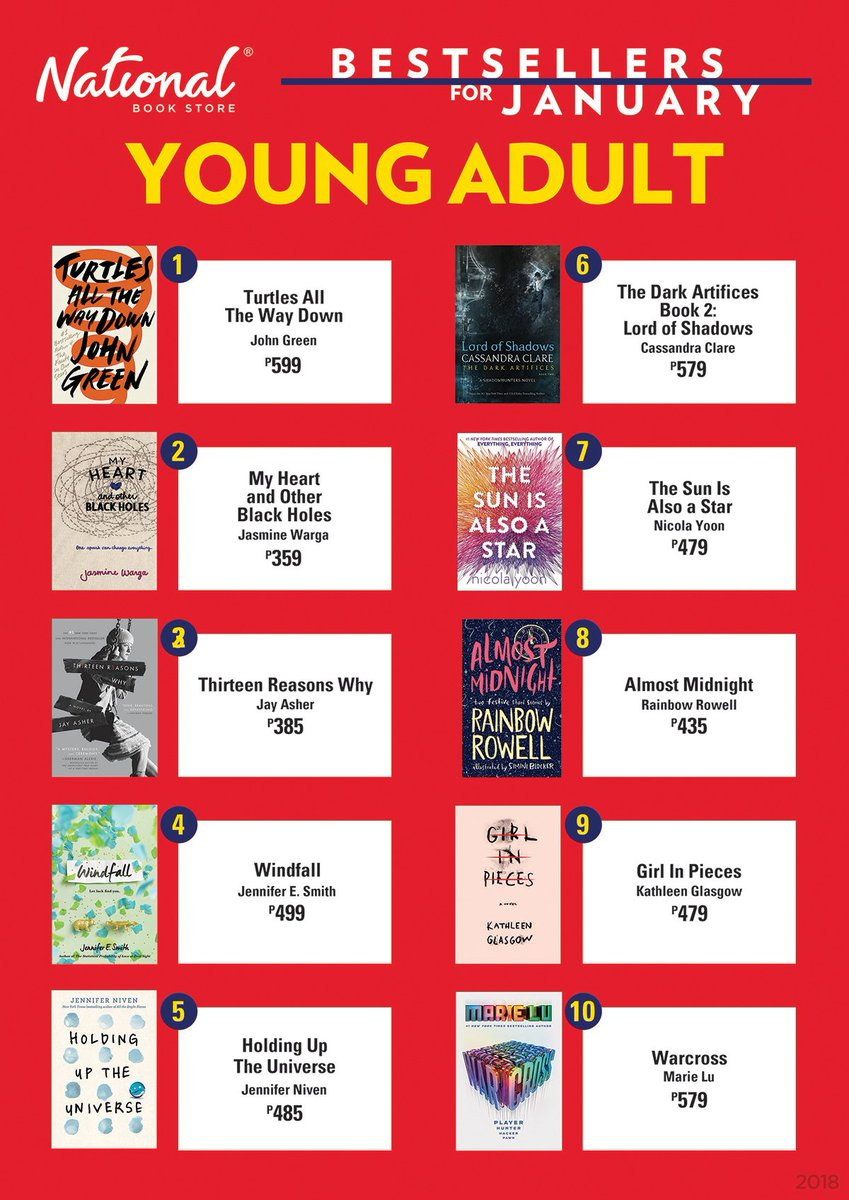 Young adult books best sellers advise
