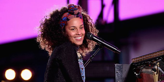 Happy Birthday Alicia Keys, 37! I want to make the best music that people have ever heard.