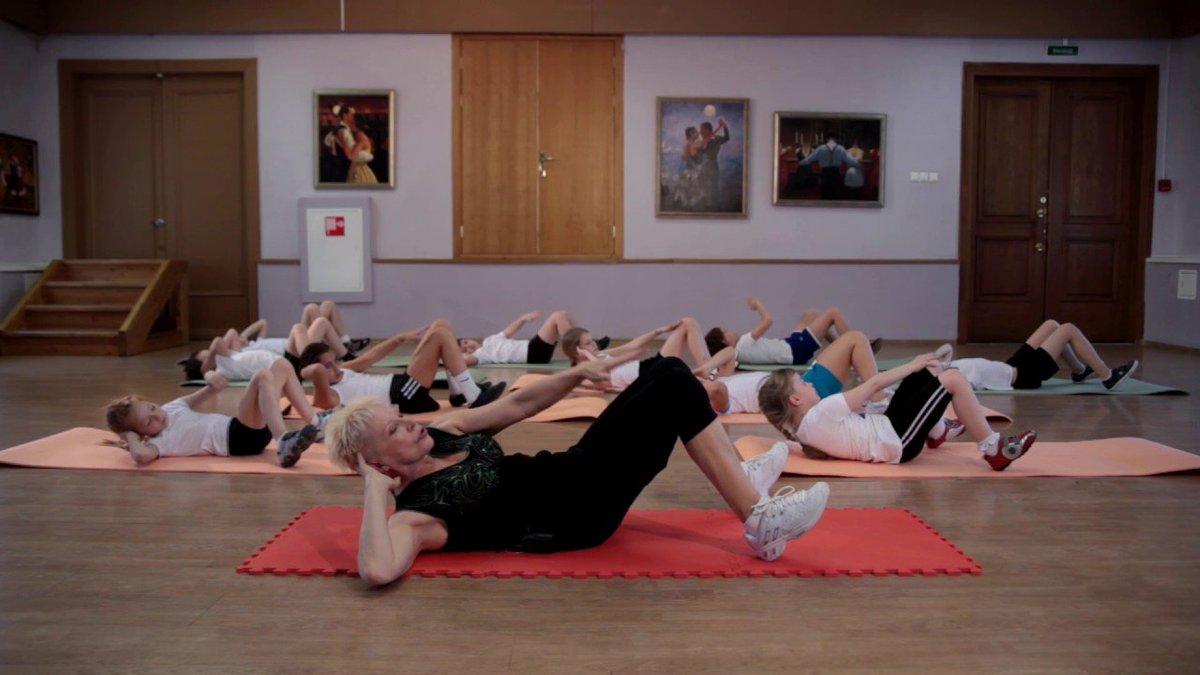 гимнастики для генсеков видео этого сайта добавлено