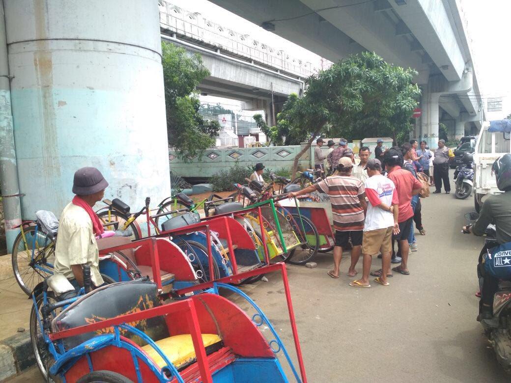 Harapan Becak kembali ke Jakarta dengan masa depan yang lebih ceria