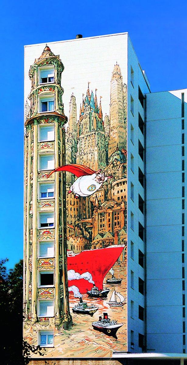 Fresques murales sont toujours en connexion forte avec lhistoire lidentité des villes des quartiers où elles sont installées citécréation a peint
