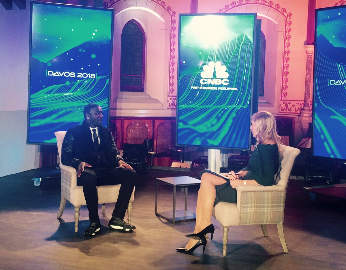 Developing Africa: @Akon tells @TaniaBryer about the work of his foundation at #Davos