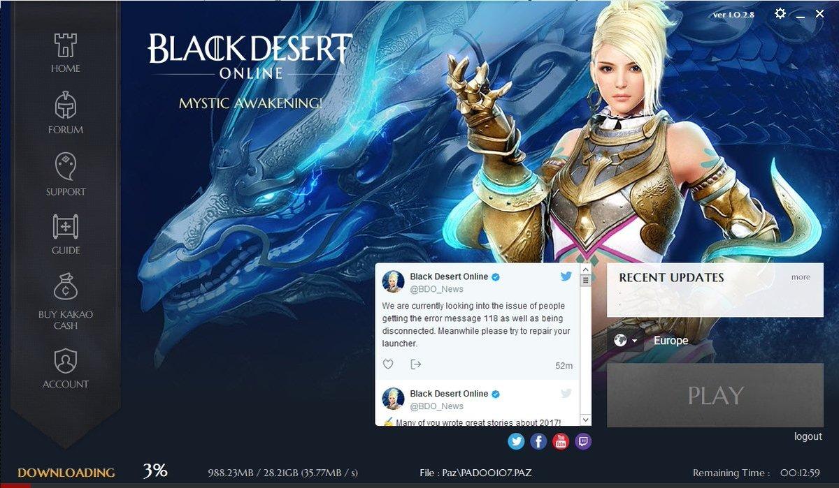 Black Desert Online PC on Twitter: