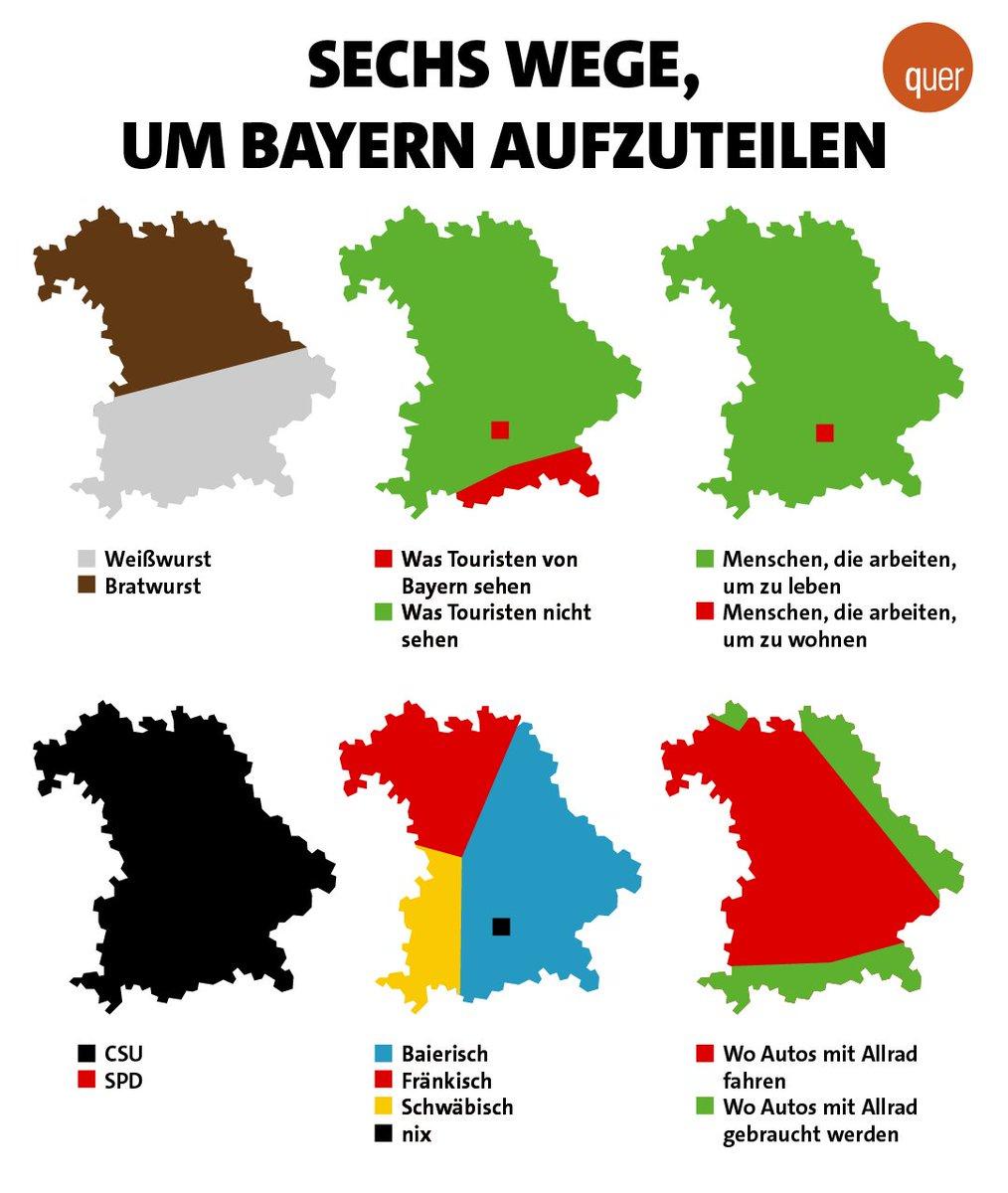 'Mia san mia' - oder doch nicht? #Bayern #bavariadivided #Franken