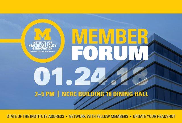 IHPI Member Forum 2018