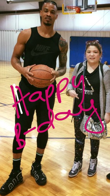Happy birthday Gerald green May god bless you always