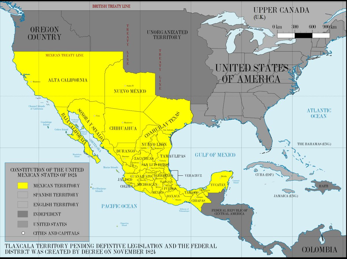 Andrew Johnson On Twitter Look At The Size Of Mexico In 1840