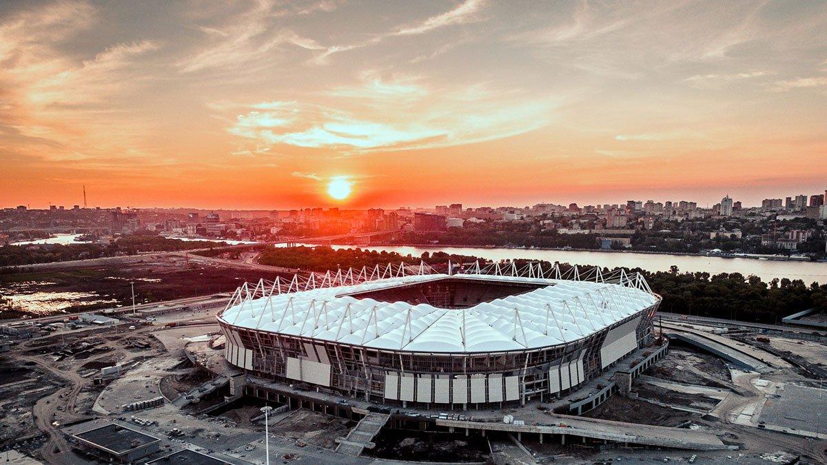 фото нового стадиона в ростове на дону