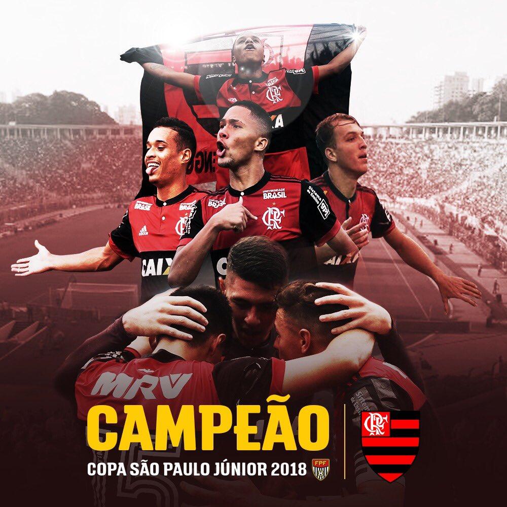 CAMPEÃO!  vence o  por 1 a 0 e é tetracampeão da Copa São Paulo de Futebol Júnior!     #PaixãoQueNãoSeMede#EssaÉaMinhaCopa#FPF#EsseÉoMeuJogo#Copinha49