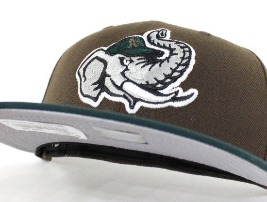 6ad5c7132f1 ... coupon for ecapcity modesto athletics new era 59fifty fitted hat beef  and broccoli gray under brim