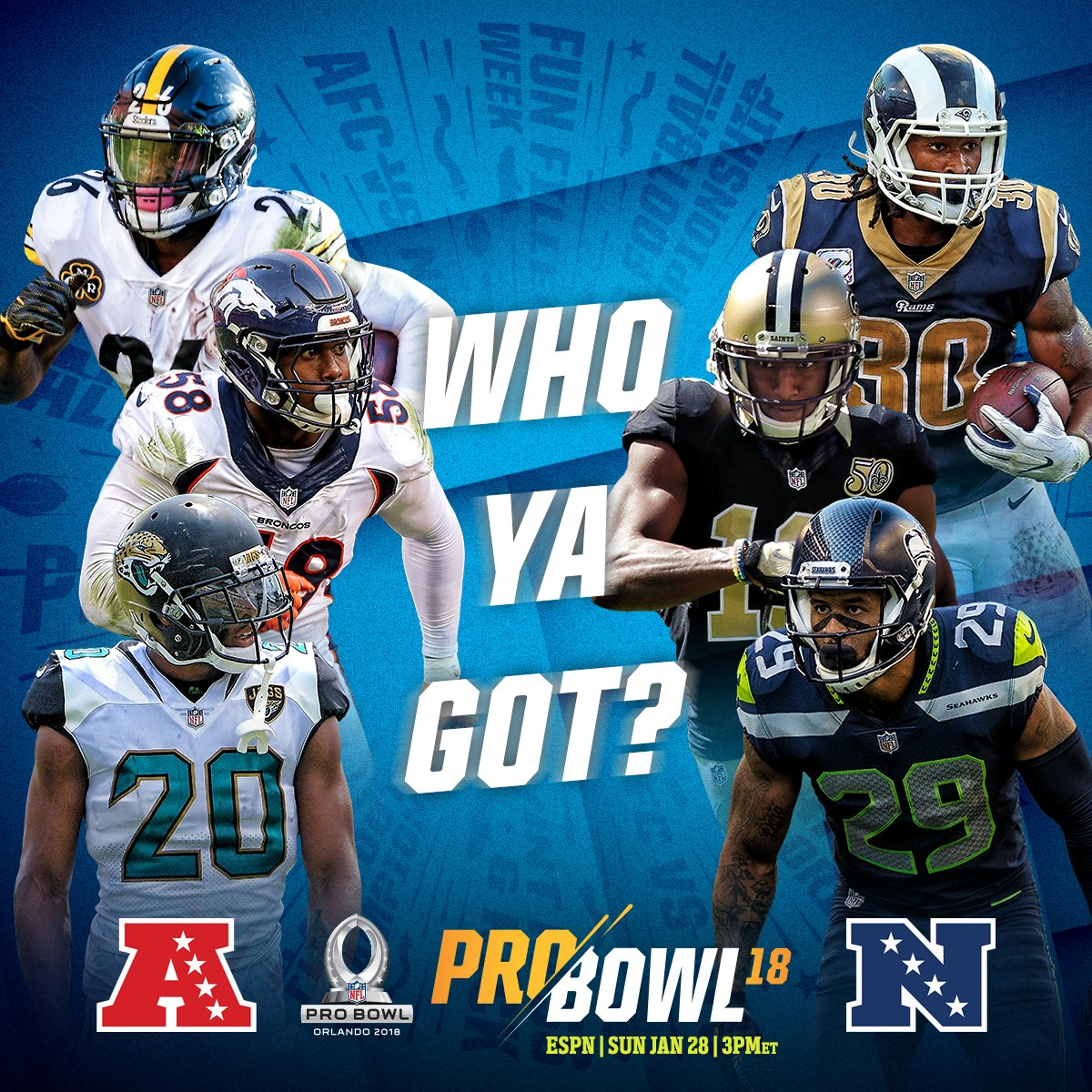 Find Out If Your Picks Made The ProBowl Roster Onnfl 2ADQlC Pictwitter QzQIXQiOHW