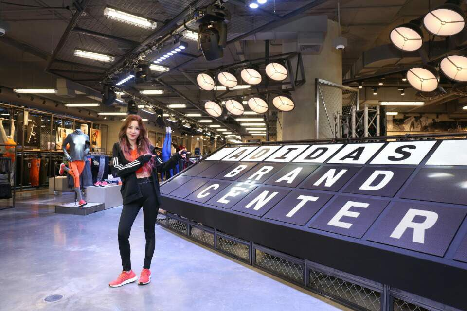 I am #heretocreate at adidas Brand Center CentralWorld today. 😀What about you?  #adidascentralworld #adidasthailand