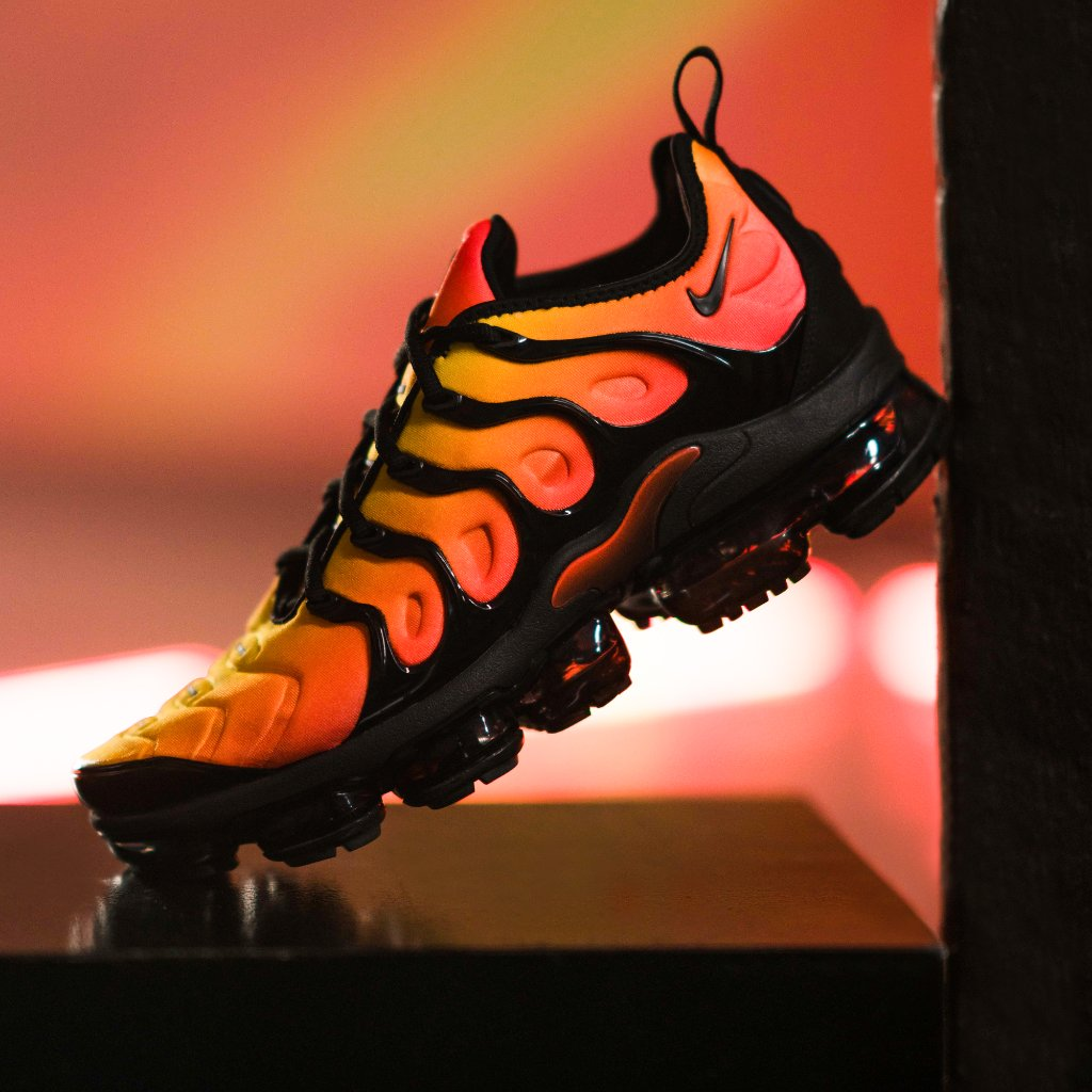 d530384ddd5 the black orange nike air vapormax plus is available online now