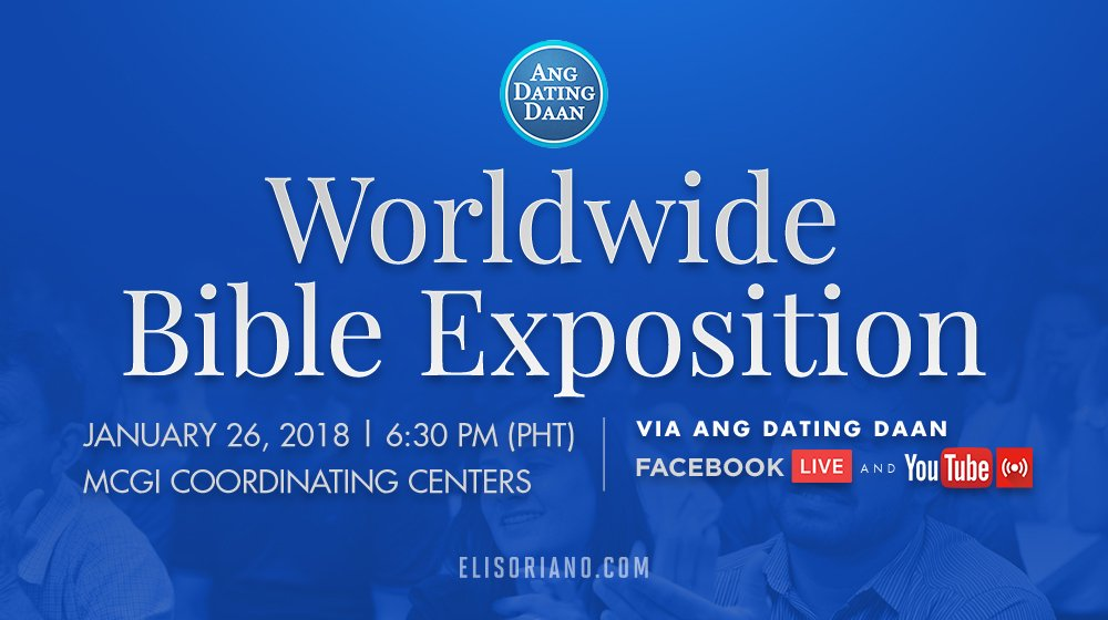 Coordinating centers ang dating daan question