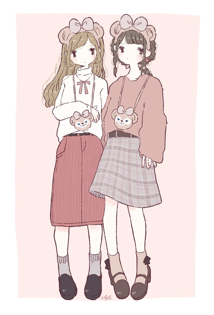 あやたゆうなぎ納涼祭713 715 On Twitter ディズニーシー コーデ