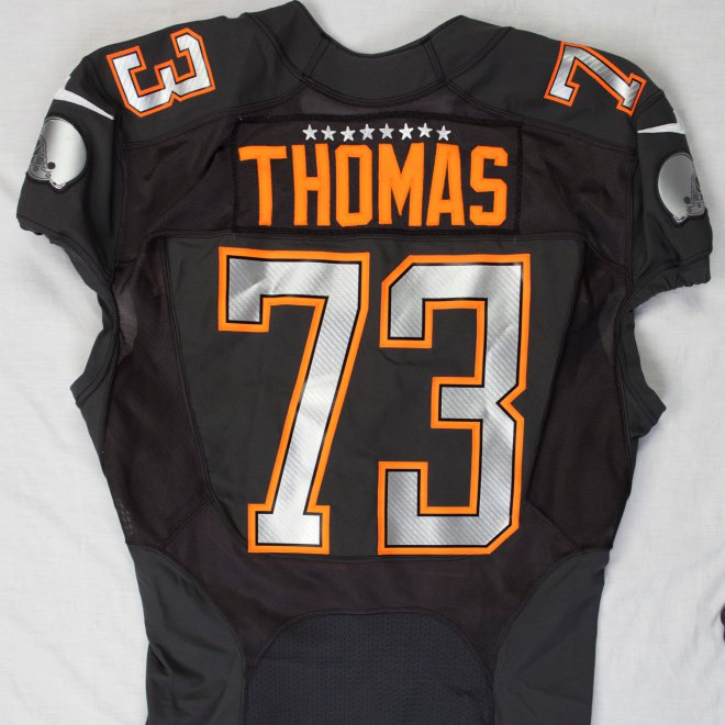 a4e42c516  ProBowl jerseys we have in our collection from the last few years   Browns  LT  joethomas73 (2014 Pro Bowl)