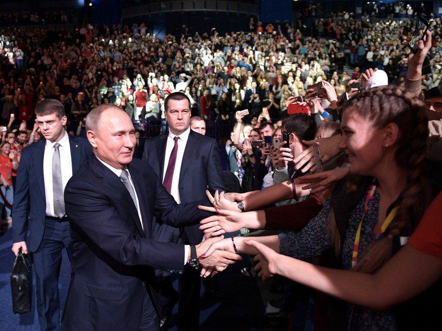 Разбор мифа о том, что Путин с народом России