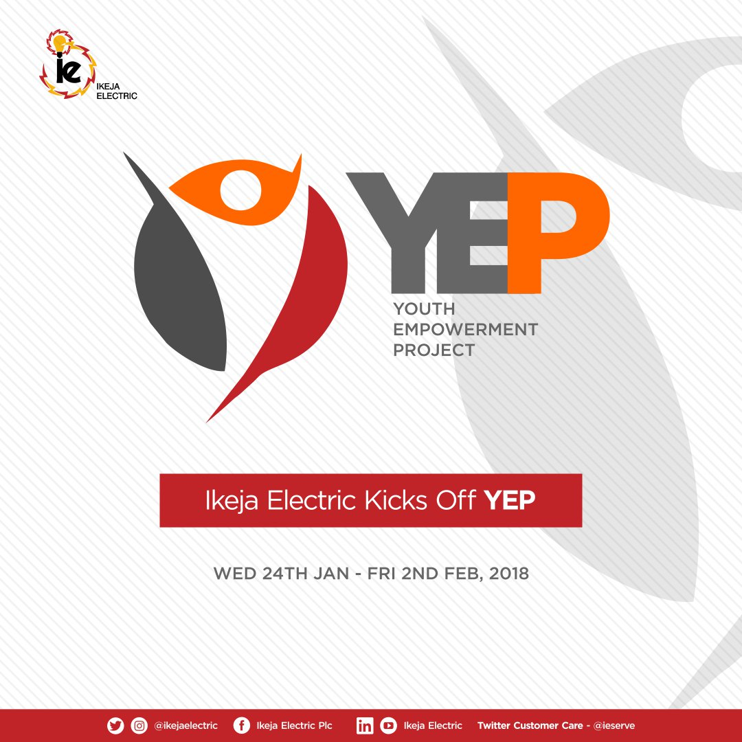 Image result for Ikeja Electric Youth Empowerment Project