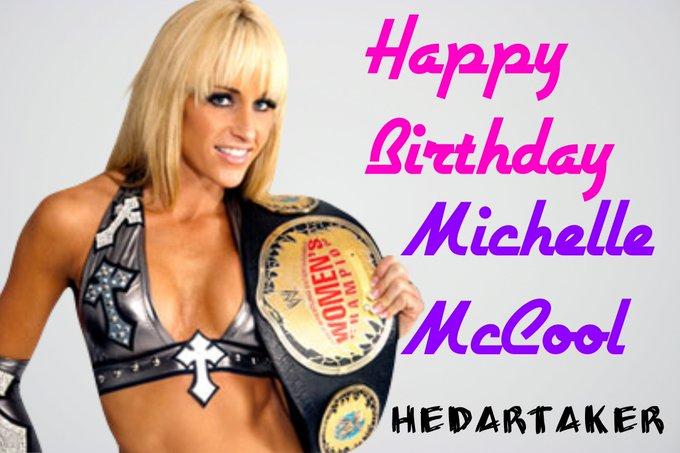 Happy Birthday To Michelle McCool