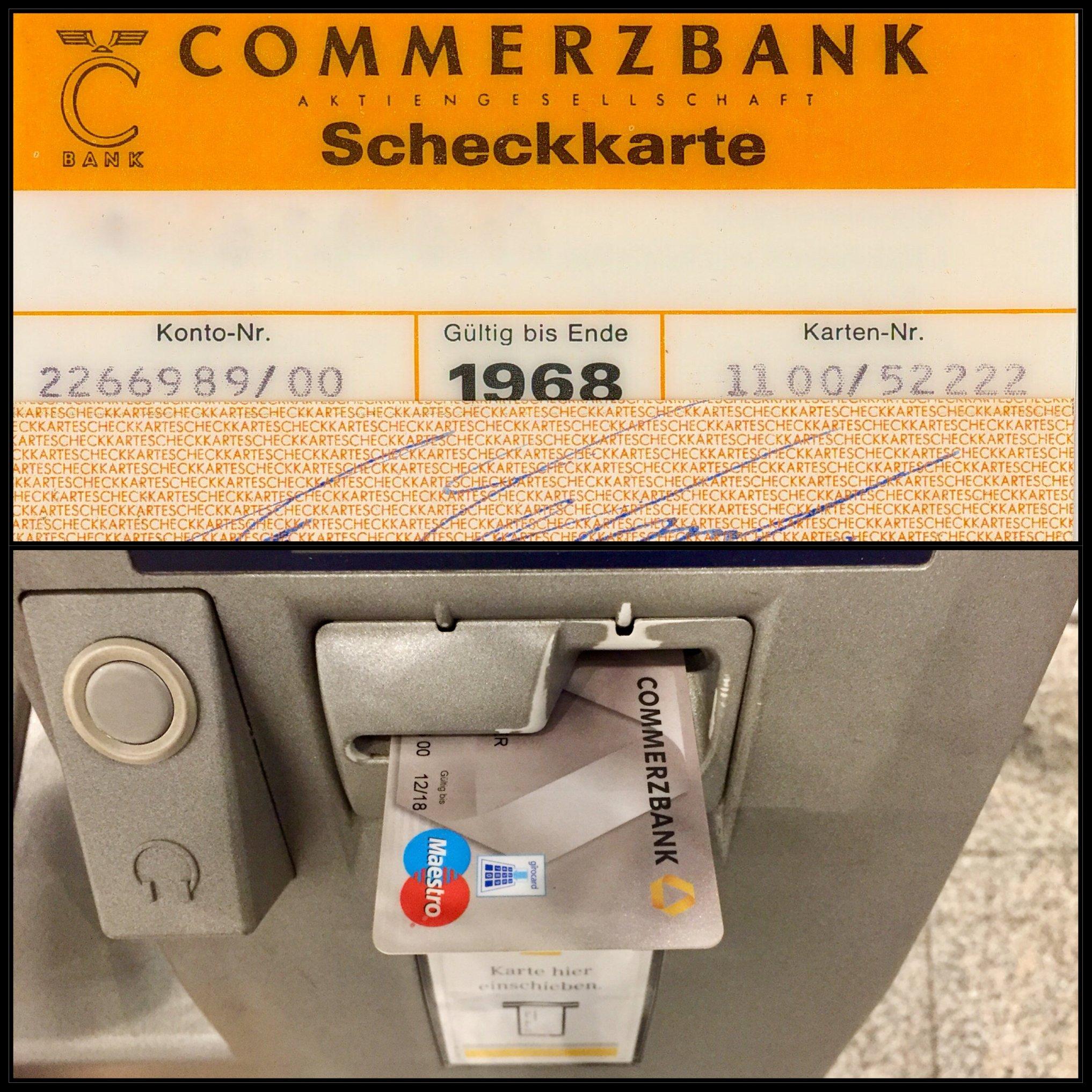 Kartennummer Ec Karte Commerzbank.Commerzbank Girocard