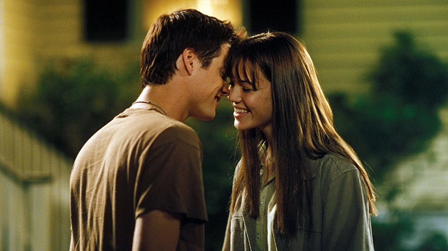 Jamie + Landon, 16 years ago, A Walk to Remember ❤️. #TBT