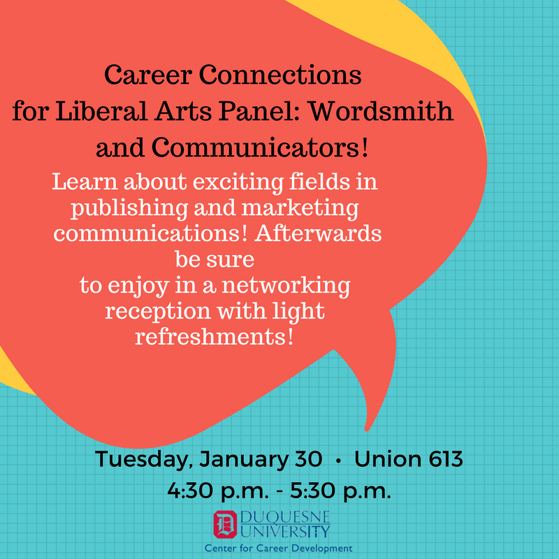 If You Are A Liberal Arts Student And Are Interested In Learning About  Exciting Career Paths In Publishing And Marketing Communications, Be Sure  To Check ...