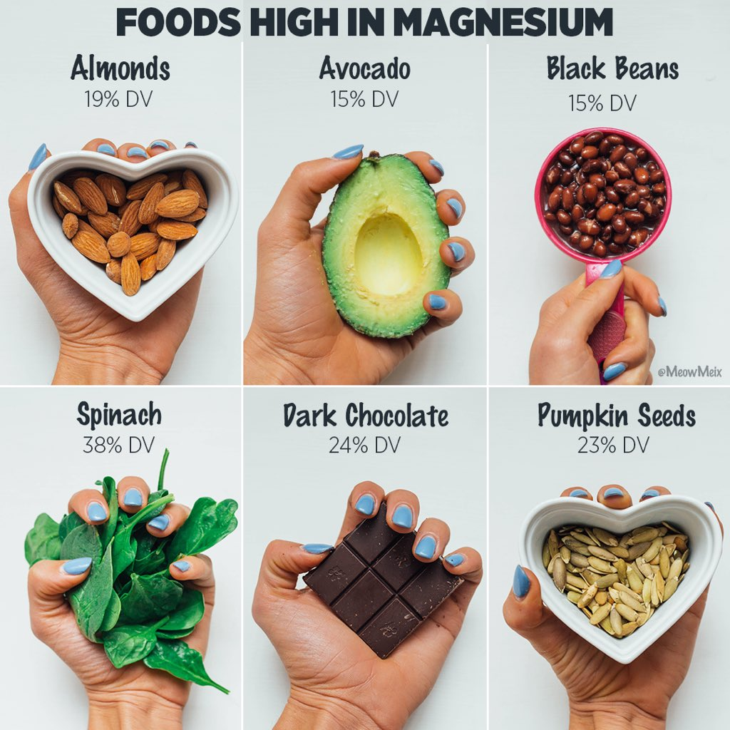 8 Foods High in Magnesium
