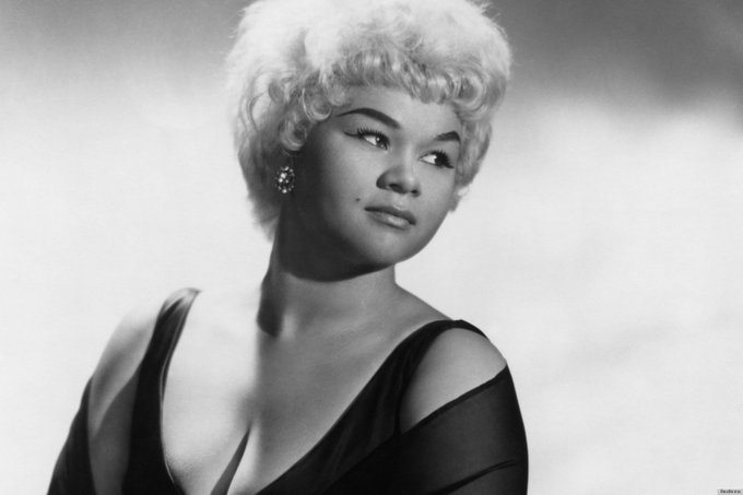 It feels so good to be happy. Etta James Happy Birthday to the late great