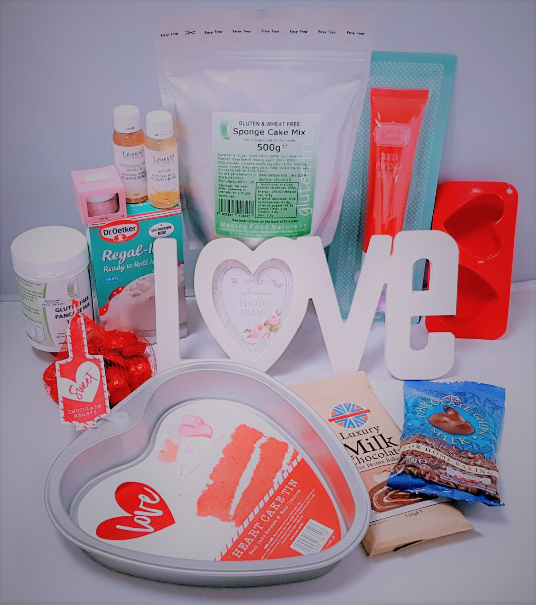 Our #glutenfree #ValentinesDay ❤️ #baking #Competition - Follow & RT to be in with a chance to #win our fabulous #giveaway - featuring our amazing Sponge Mix and Pancake Mix - #GoodLuck #nomnomnom