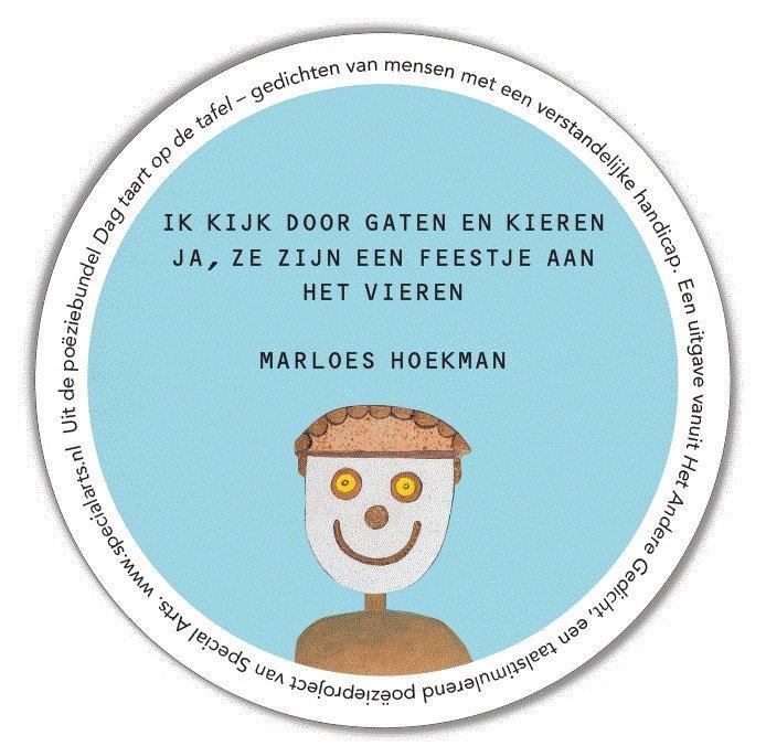 Fonds Vgs Tweet Uit De Poëziebundel Dag Taart Op De