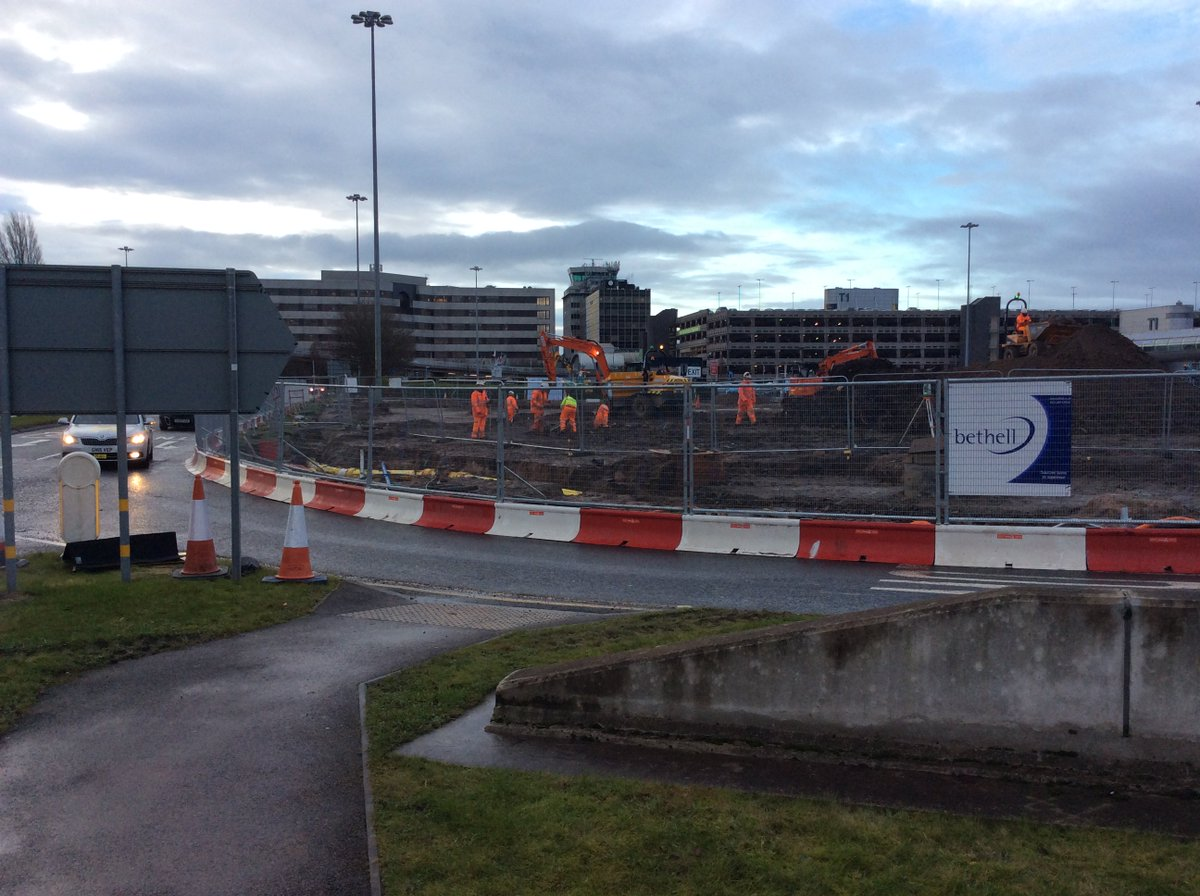 Bethell group on twitter ongoing site clearance and general bethell group on twitter ongoing site clearance and general excavation works being carried out on our 13m manchester airport t1 meet and greet car park m4hsunfo