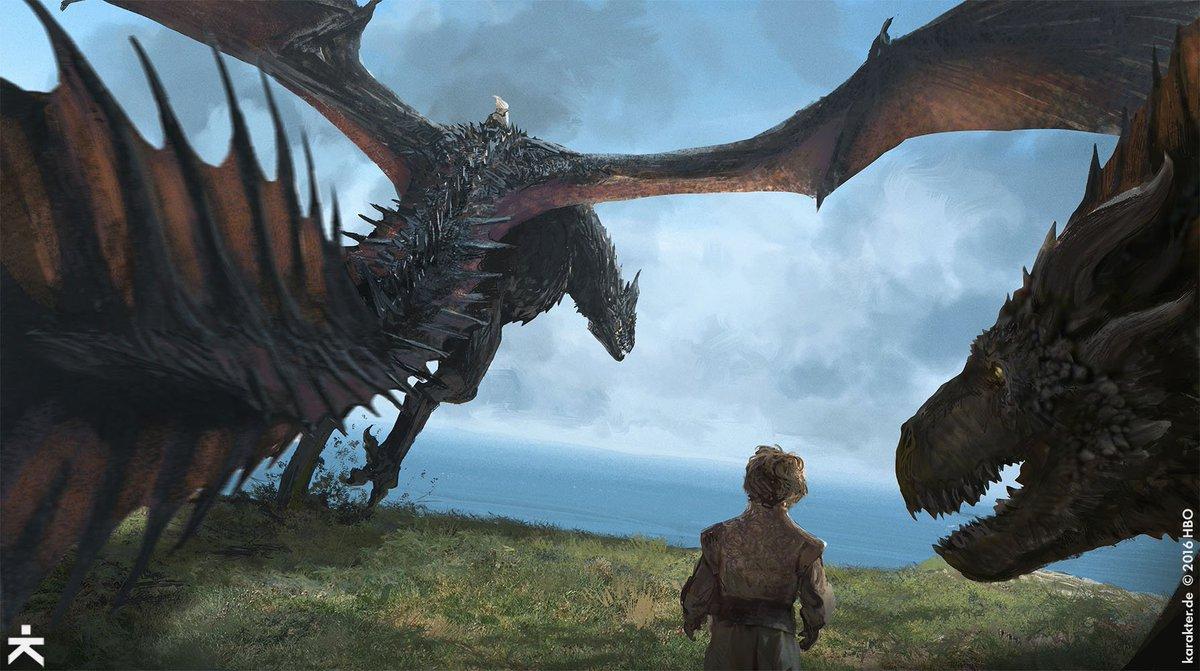 Watchers On The Wall Twitter Concept Art Of Game Thrones Season 7 By Karakter Tco KeWziBtRMI GameofThrones GOTs7