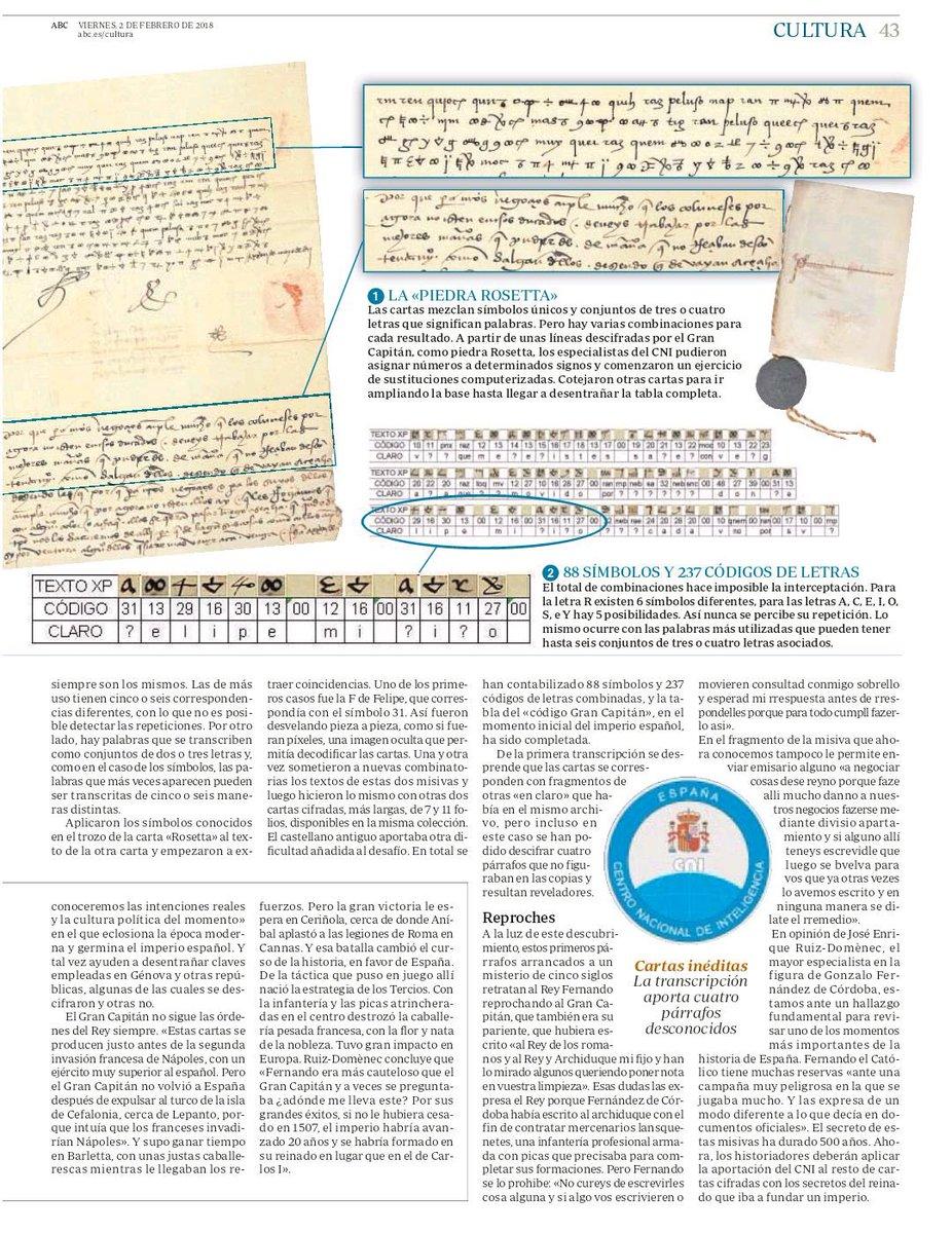 El CNI descifra las cartas secretas entre Fernando el Católico y el Gran Capitán de la campaña de Nápoles DU_BYLfW0AET7TP