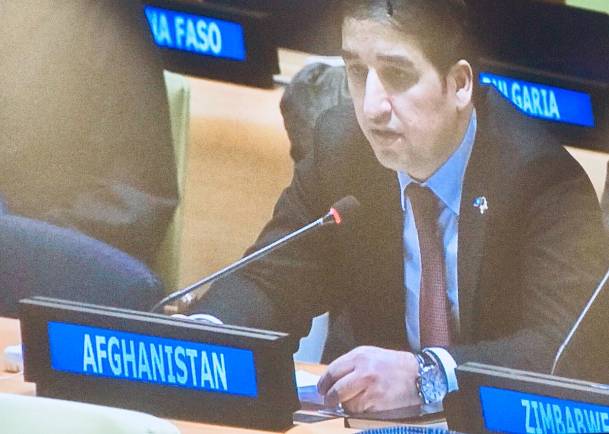 #Afghanistan Deputy Permanent Representative @Nsalarzai at todays Intergovernmental Negotiations (IGN) on #UNSC reform: A council that acts fast, has better buy in and ensures adherence to the UN Charter and SC resolutions is in the interest of all.