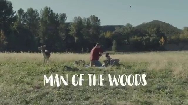 4 of 4. Man of the Woods music video out midnight ET. 🎥 : #PaulHunter / @Prettybirdpic https://t.co/q1DgjoCQov