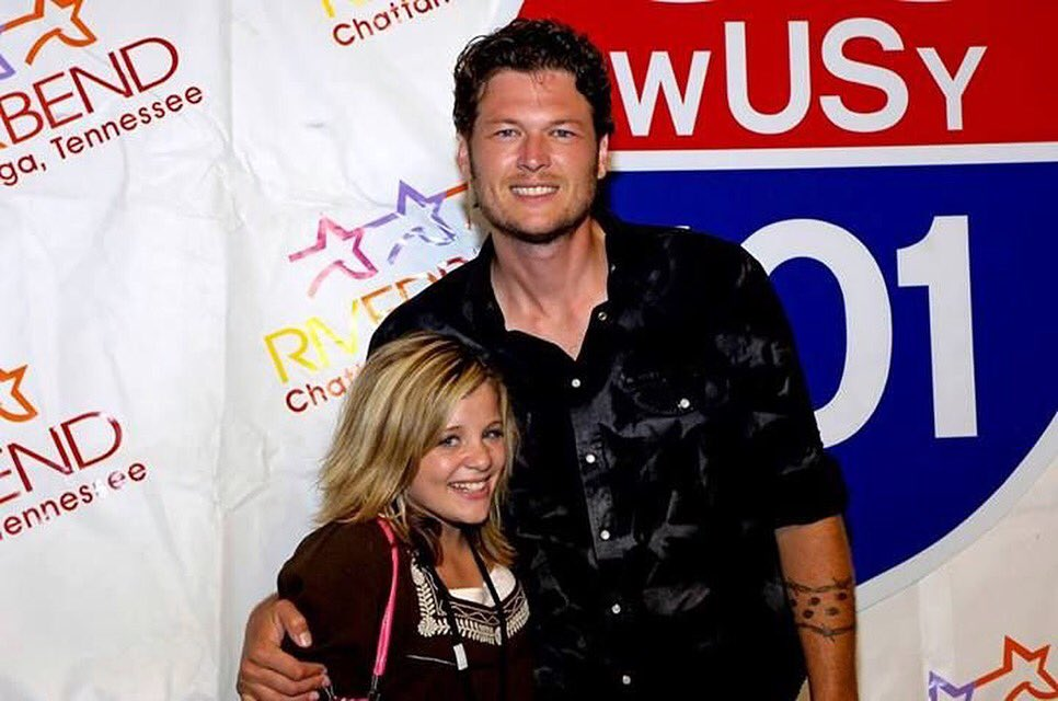 Hey @blakeshelton! How about this for a #throwbackthursday? https://t.co/NrzDVQGyyh