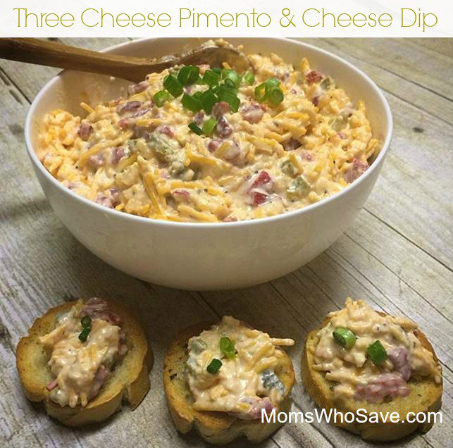 Three Cheese Pimento & Cheese Dip