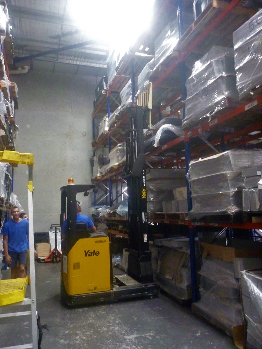Busy day in the warehouse !! #TGIF