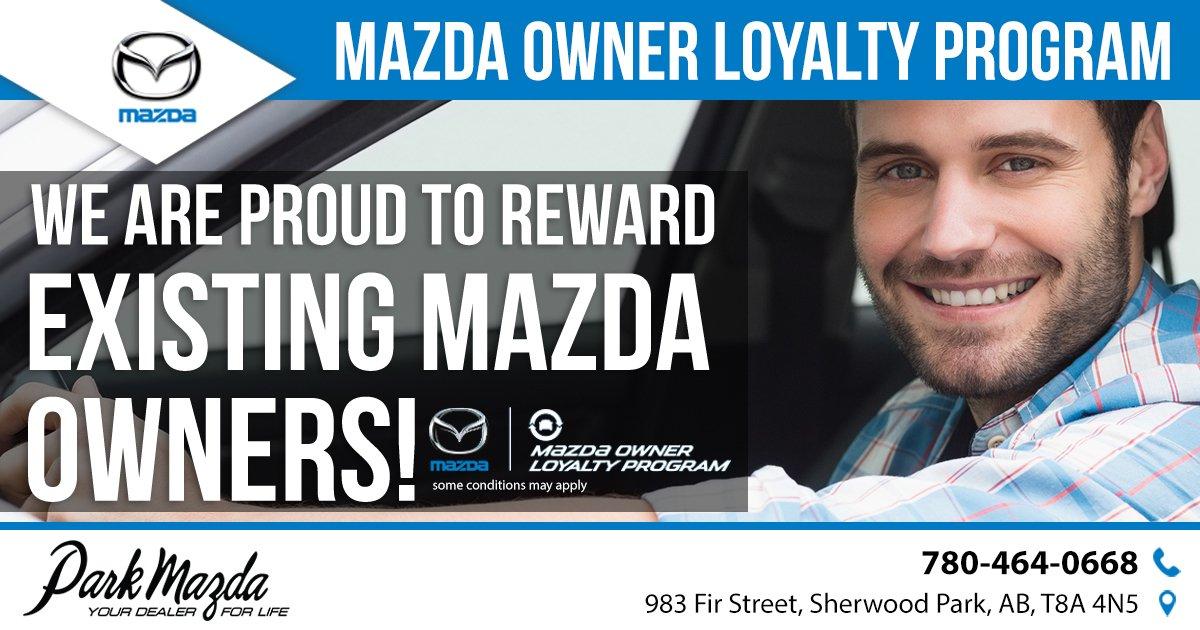 Park Mazda Parkmazda Twitter - Mazda loyalty program