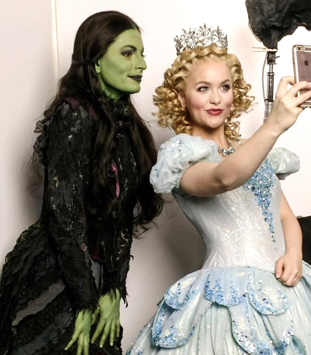 WICKED The Musical on Twitter  A behind-the-scenes look at todayu0027s media shoot with @amandajanecoop (Glinda) and @jackieburnsnyc (Elphaba) for @Situation.  sc 1 st  Twitter & WICKED The Musical on Twitter:
