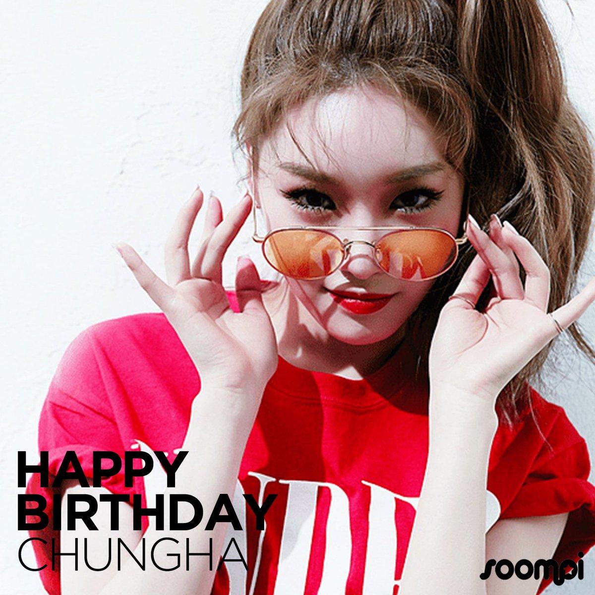 Happy Birthday to #Chungha! #HappyChungh...