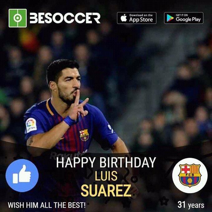 Happy Birthday Luis Suarez (Legend)