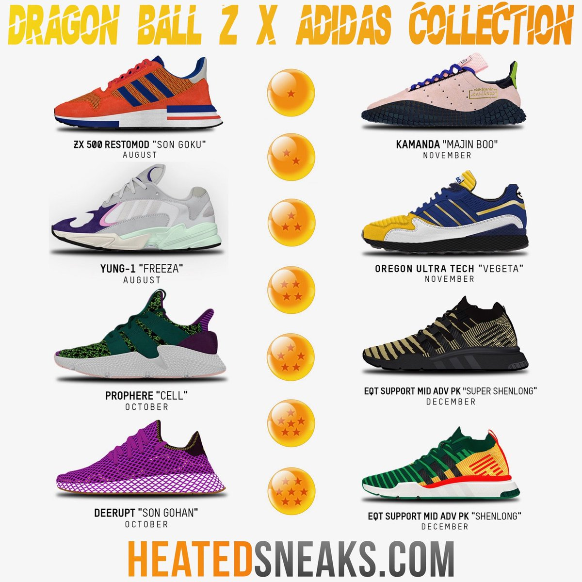 adidas dragon ball