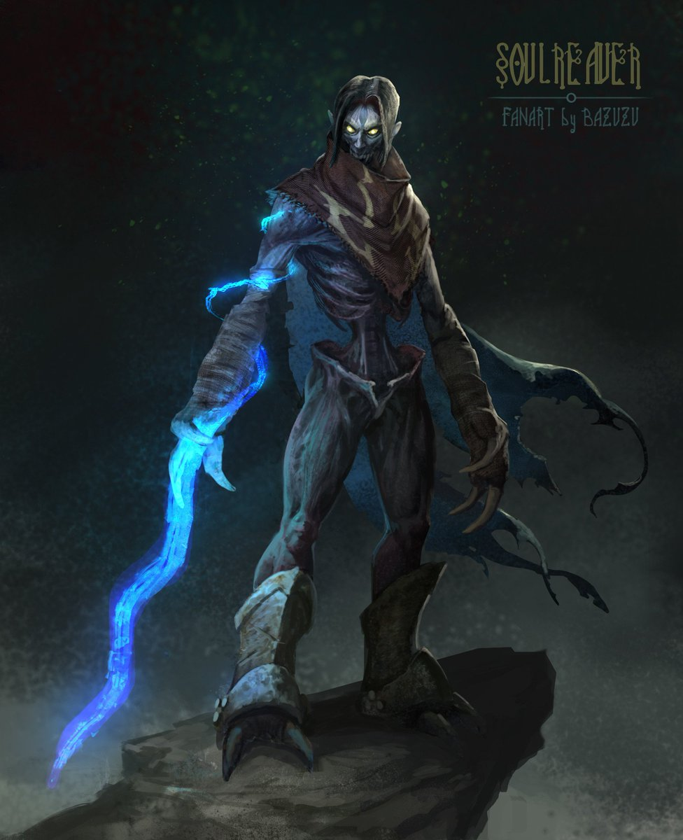 Crystald On Twitter Fanartfriday Soul Reaver By Bazuzu See