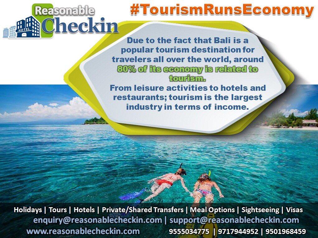Reasonable Checkin On Twitter Didyouknow Tourismrunseconomy