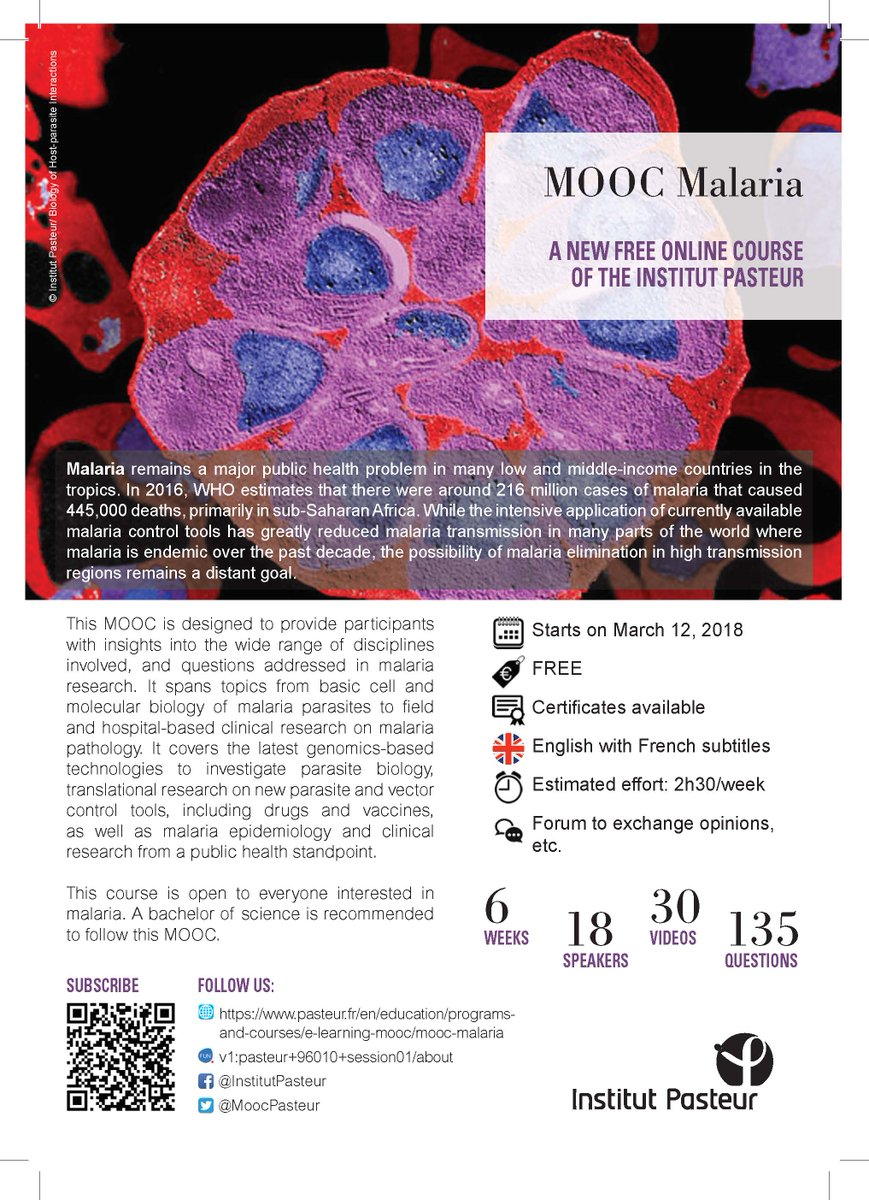 Defeating Malaria On Twitter Mooc Malaria From Institutpasteur