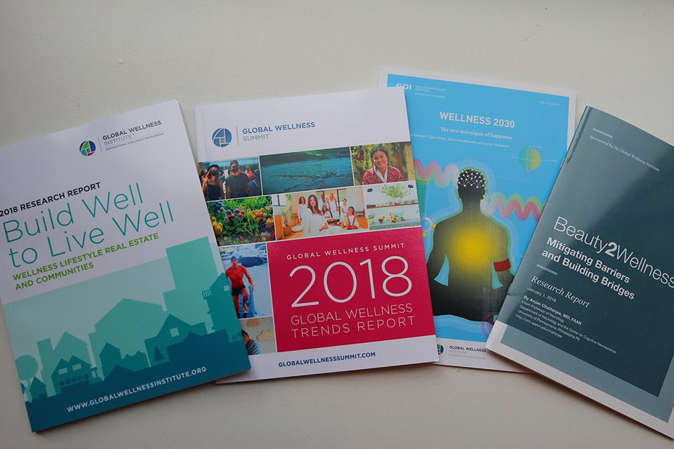 Αποτέλεσμα εικόνας για Global Wellness Institute releases landmark report